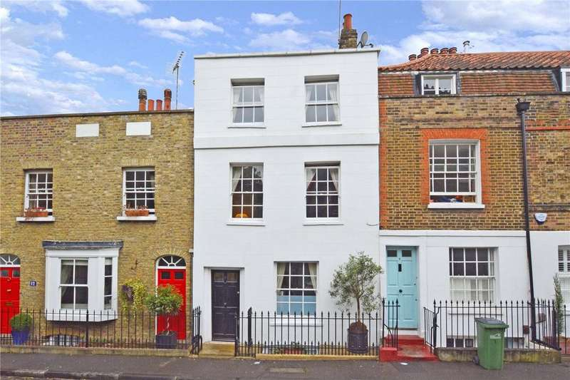 4 Bedrooms Terraced House for sale in Feathers Place, Greenwich, London, SE10