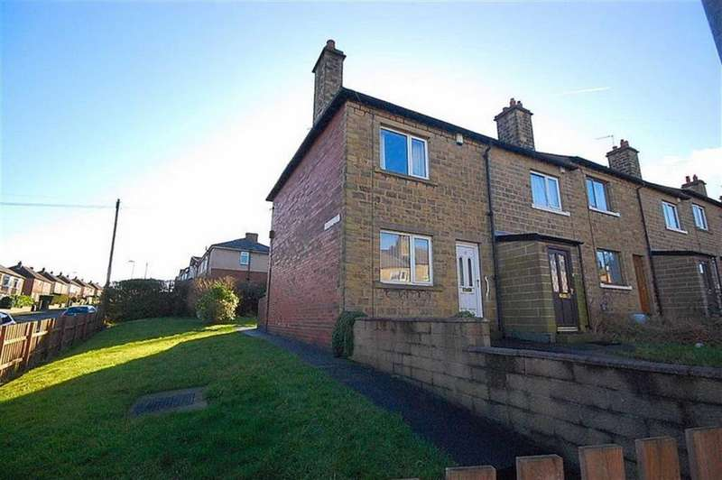 2 Bedrooms End Of Terrace House for sale in Mitchell Avenue, Waterloo, Huddersfield, HD5