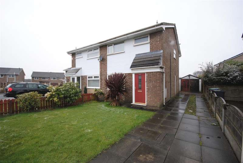 3 Bedrooms Semi Detached House for sale in Montford Rise, Aspull, Wigan