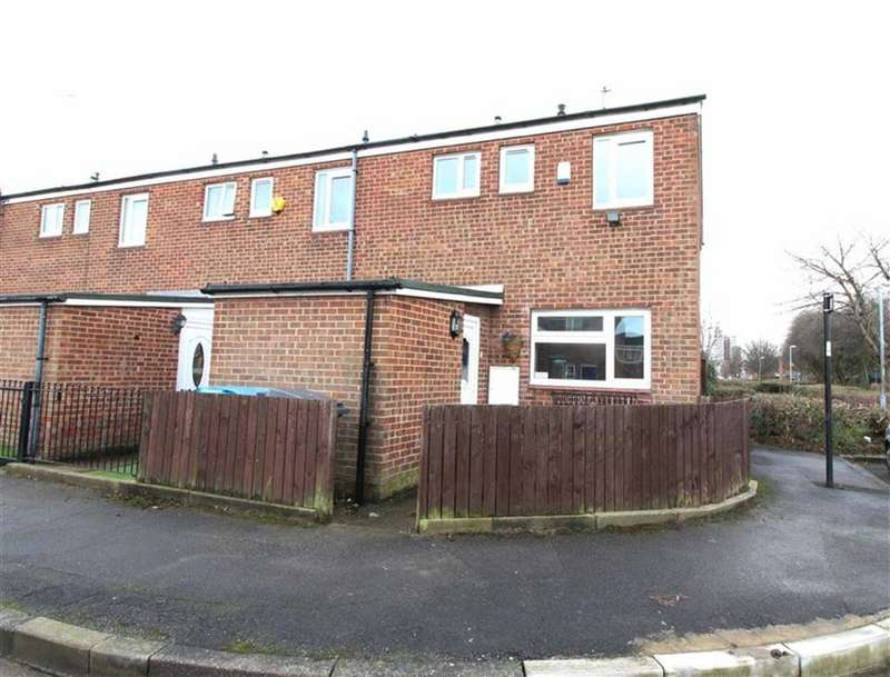 3 Bedrooms End Of Terrace House for sale in Symons Close, Hull