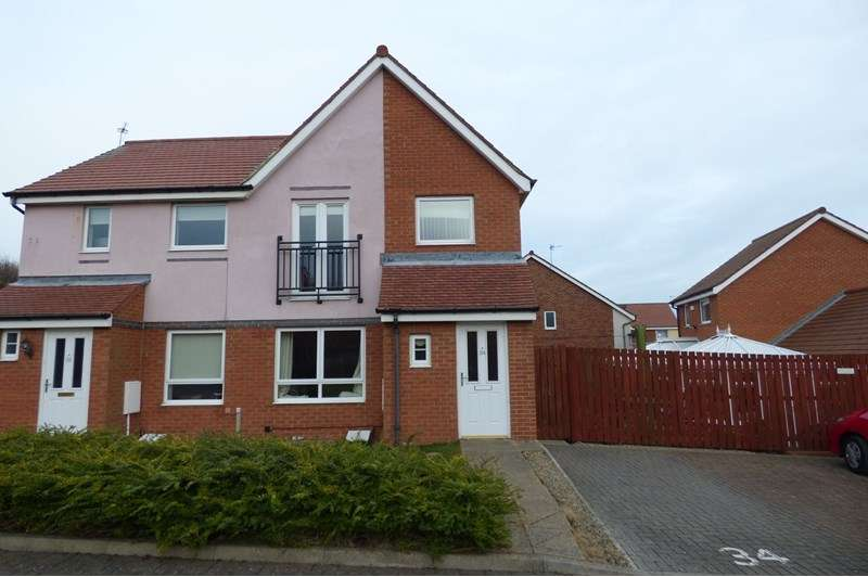 3 Bedrooms Property for sale in Coneygarth Place, Ashington, Northumberland, NE63 9FL