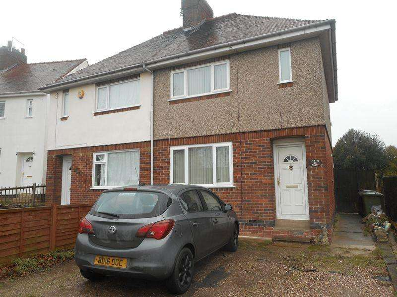 2 Bedrooms Semi Detached House for sale in The Circle, Stockingford, Nuneaton