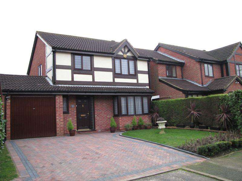 3 Bedrooms Detached House for sale in Countisbury, Milton Keynes