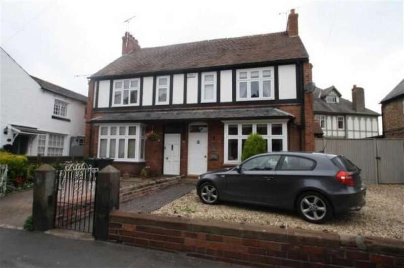 3 Bedrooms Semi Detached House for sale in Church Street, Farndon, Chester, Chester