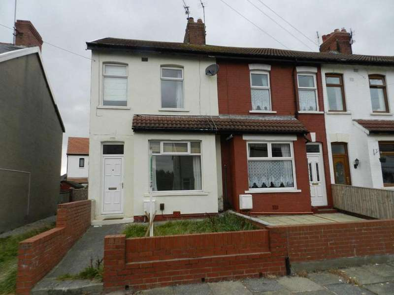 3 Bedrooms End Of Terrace House for sale in Kelvin Road, Thornton-Cleveleys
