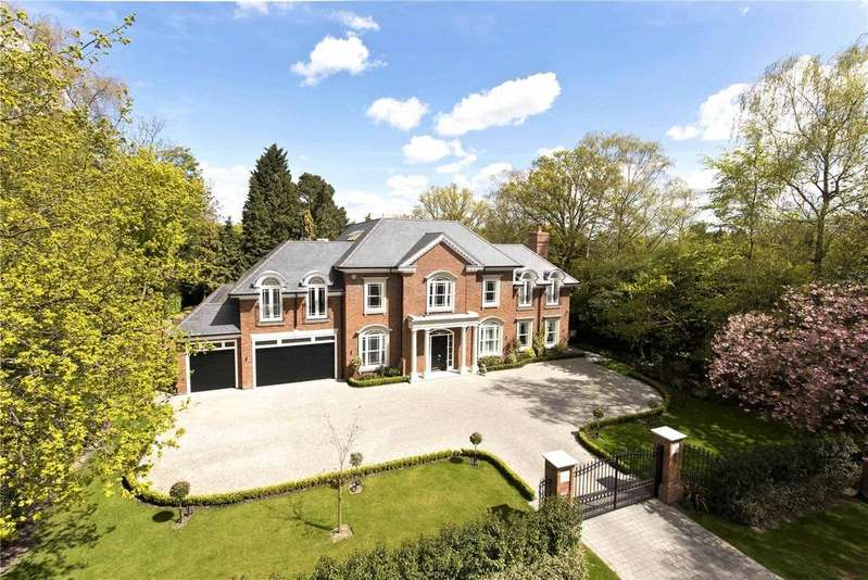 6 Bedrooms Detached House for sale in Onslow Road, Burwood Park, KT12