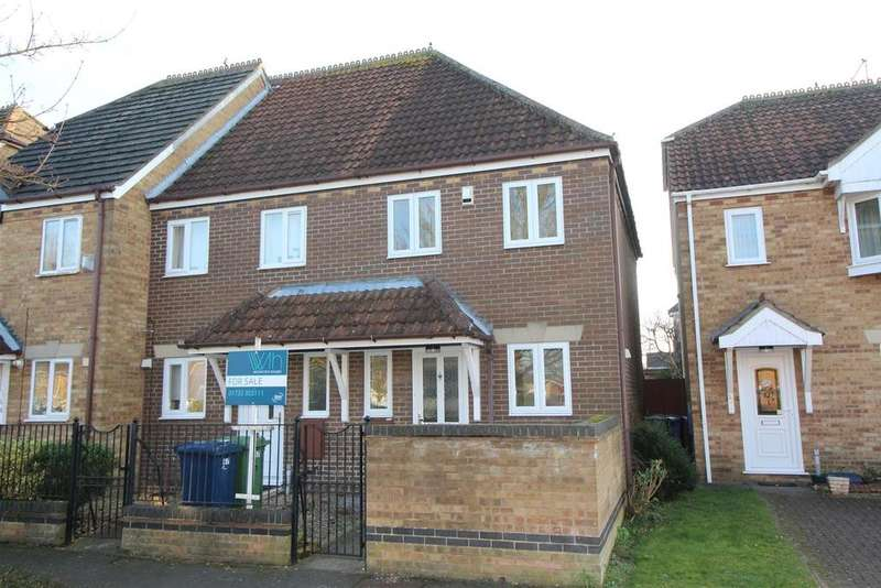 2 Bedrooms End Of Terrace House for sale in Pinewood Avenue, Whittlesey, Peterborough