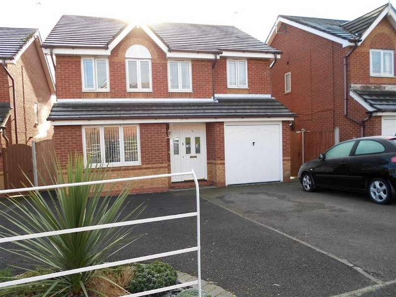 4 Bedrooms Detached House for sale in James Atkinson Way, Coppenhall, Crewe, Cheshire