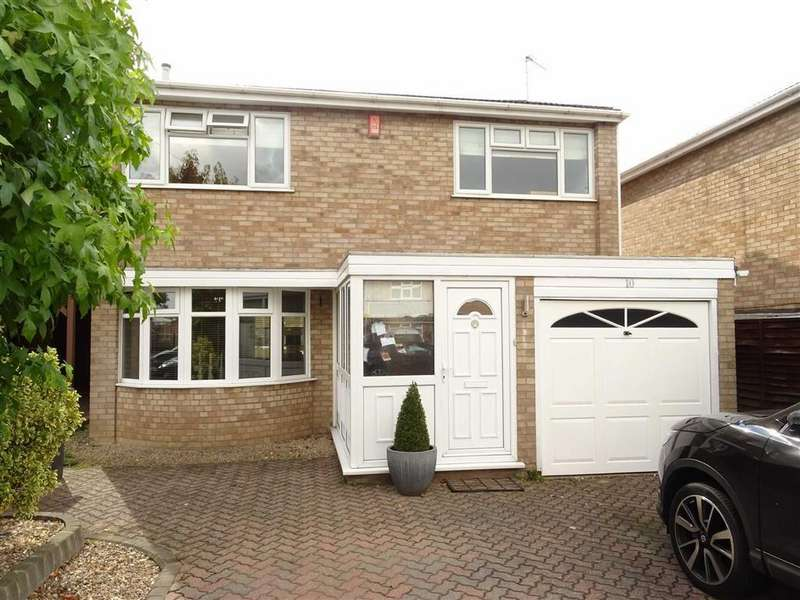 4 Bedrooms Detached House for sale in Lupin Close, Burbage