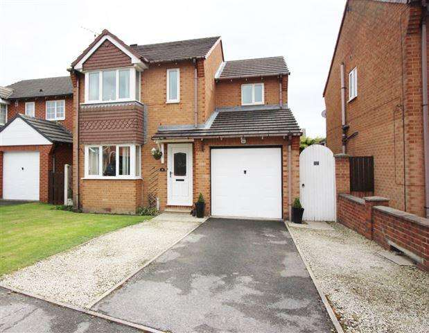 4 Bedrooms Detached House for sale in Whitehead Close, Dinnington , Sheffield , S25 2XX