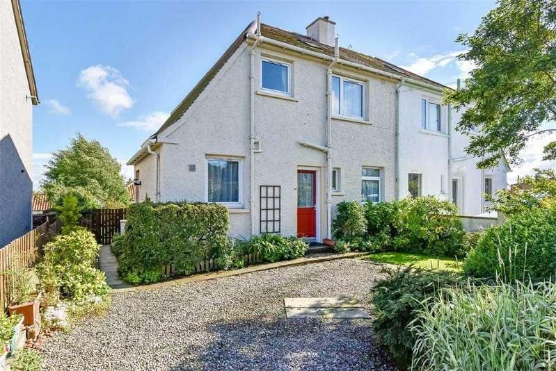 3 Bedrooms Semi Detached House for sale in Mid Street, Largoward