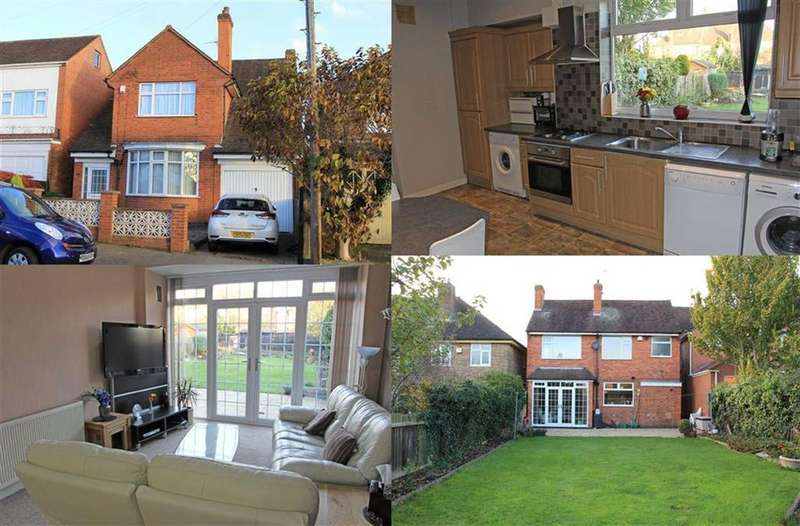 3 Bedrooms Detached House for sale in Byway Road, Evington, Leicester