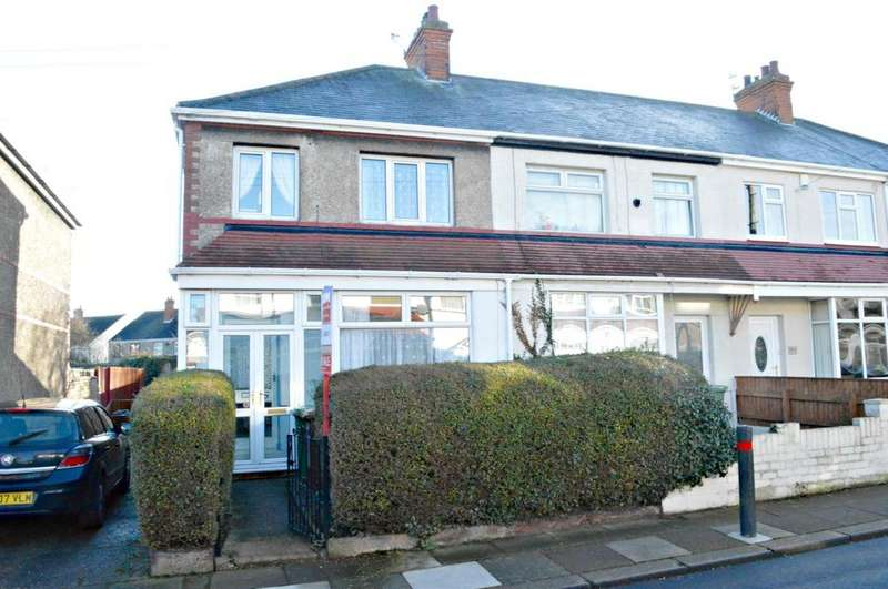 3 Bedrooms End Of Terrace House for sale in Kirmington Gardens, Grimsby, North East Lincolnshire, DN34