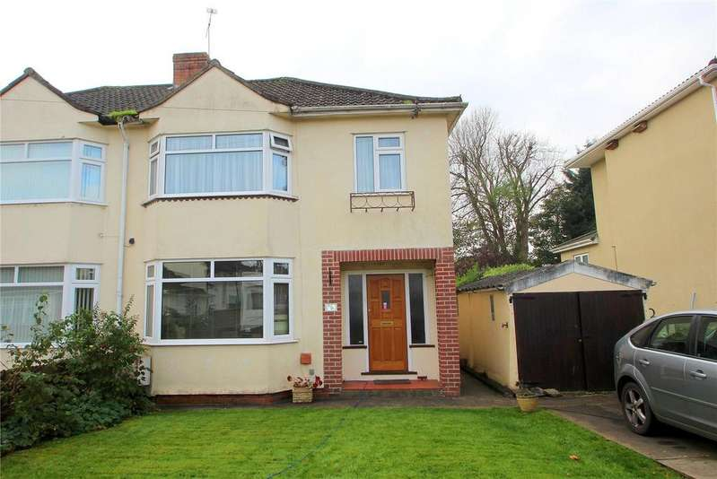 3 Bedrooms Semi Detached House for sale in Fairway, Brislington, Bristol, BS4
