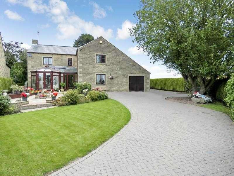4 Bedrooms Detached House for sale in Wheelwright House, Westfield Lane, Middle Handley, S21 5RY