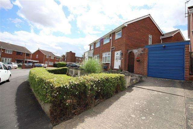 3 Bedrooms Semi Detached House for sale in Mauncer Drive, Woodhouse, S13 7JE