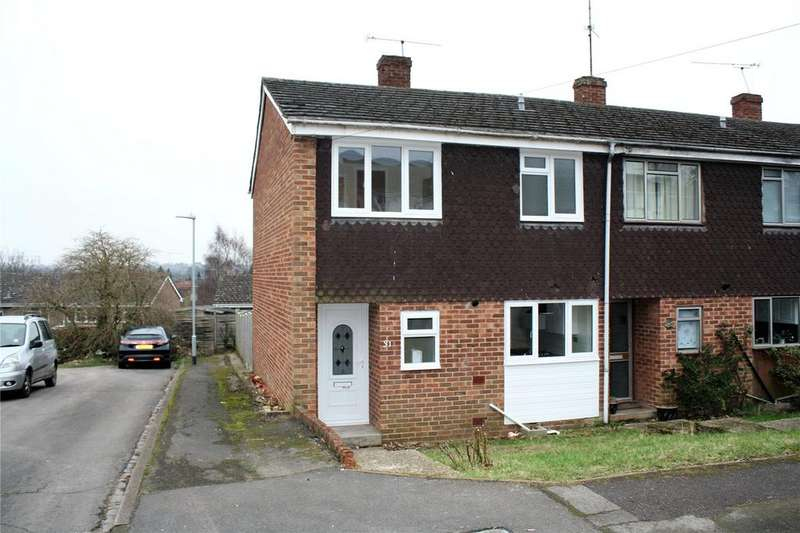 3 Bedrooms End Of Terrace House for sale in Donegal Close, Caversham, Reading, Berkshire, RG4