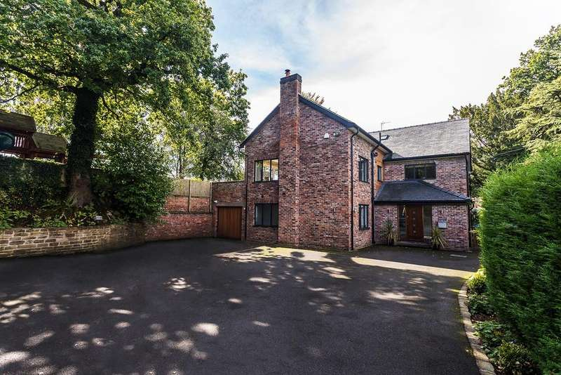 5 Bedrooms Detached House for sale in Macclesfield Road, Alderley Edge