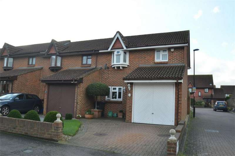 3 Bedrooms End Of Terrace House for sale in Marigold Way, Shirley Oaks Village, Croydon, Surrey