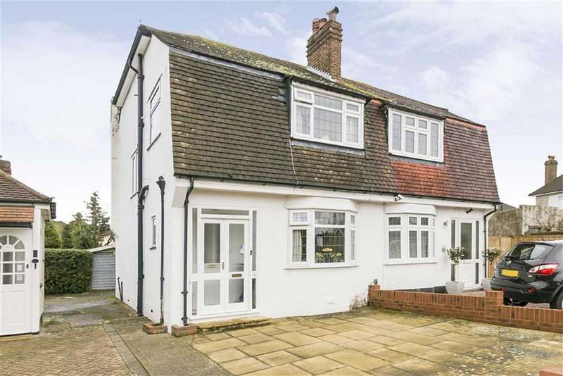 3 Bedrooms Semi Detached House for sale in Lakehurst Road, Epsom, Surrey