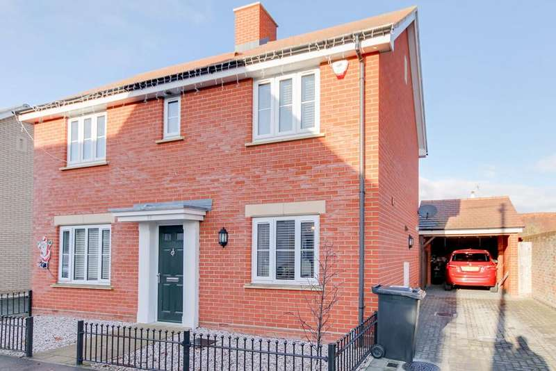 4 Bedrooms Detached House for sale in New Farm Road, Stanway, Colchester, CO3
