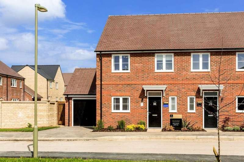 3 Bedrooms Semi Detached House for sale in Plot 10, Oakwood Gate, New Road, Bampton, Oxfordshire, OX18