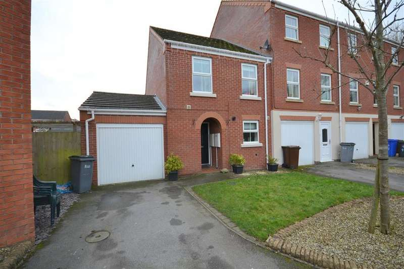 3 Bedrooms Semi Detached House for sale in Smallwood Close, Heron Cross, Stoke-On-Trent