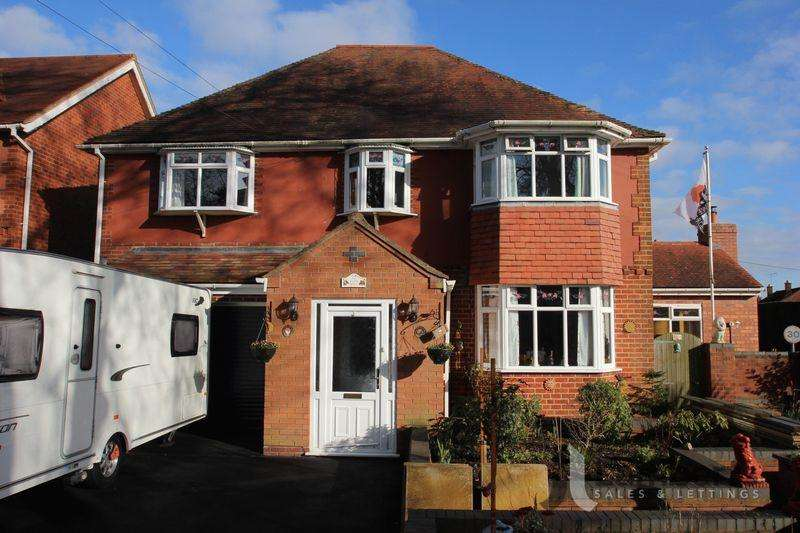 5 Bedrooms Detached House for sale in Node Hill, Studley