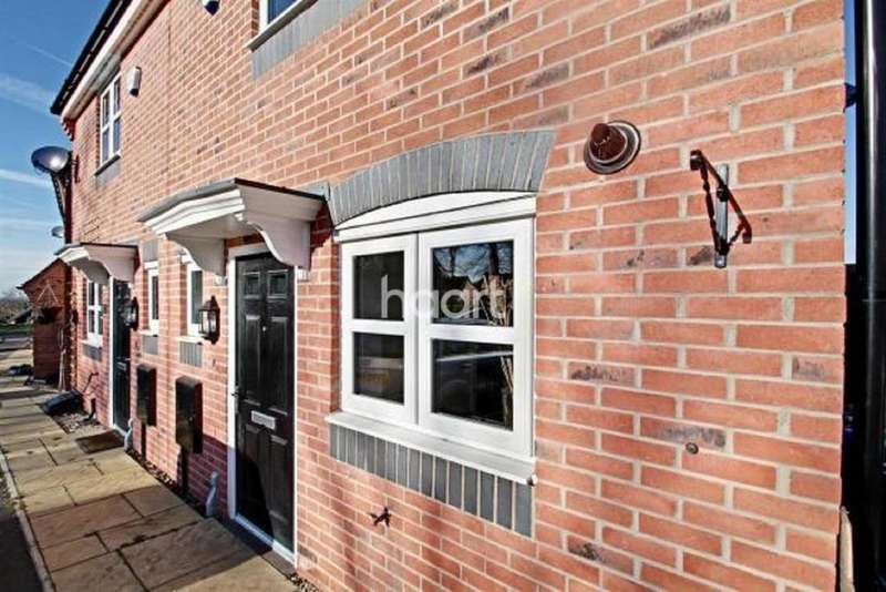 2 Bedrooms Semi Detached House for sale in Fielders Drive, Scraptoft, Leicester