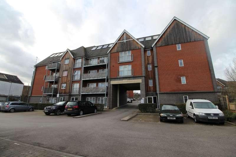 2 Bedrooms Apartment Flat for sale in Millward Drive, Fenny Stratford, Bletchley, Milton Keynes