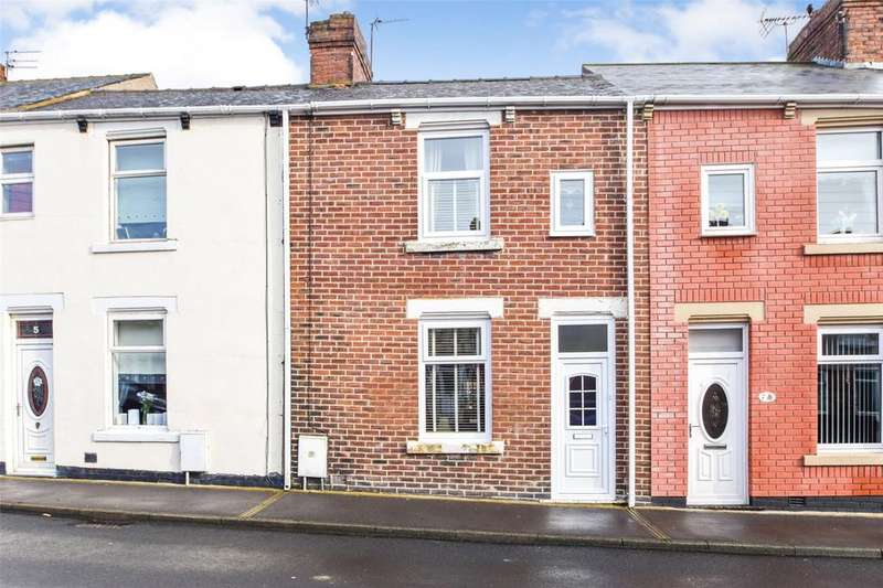 3 Bedrooms Terraced House for sale in Coronation Street East, Murton, Seaham, Co Durham, SR7