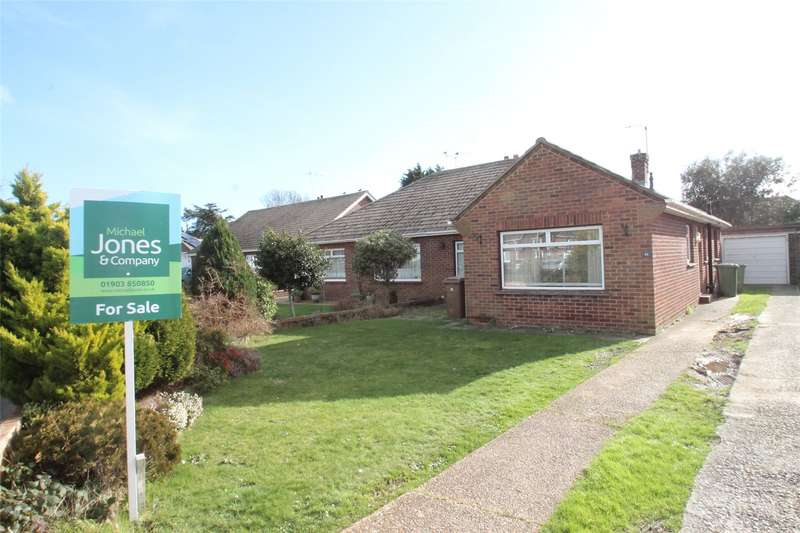3 Bedrooms Semi Detached Bungalow for sale in Russells Close, East Preston, West Sussex, BN16