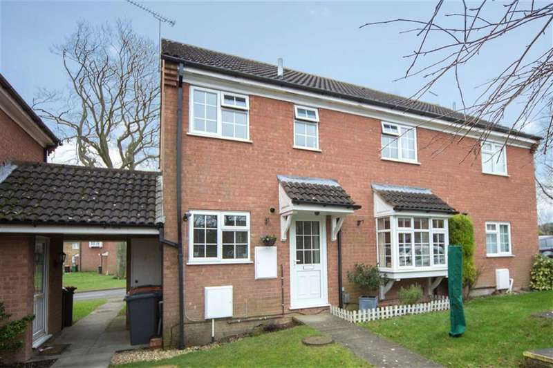 2 Bedrooms Terraced House for sale in Bowmans Close, Dunstable, Bedfordshire, LU6