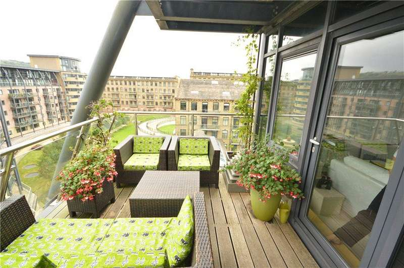 3 Bedrooms Apartment Flat for sale in Apartment 502, Victoria, Salts Mill Road, Saltaire, West Yorkshire