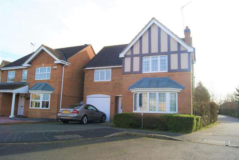 4 Bedrooms Detached House for sale in Brudenell Close, Cawston, Rugby