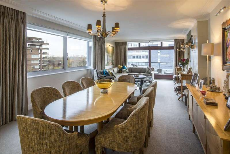 3 Bedrooms Flat for sale in London House, 7-9 Avenue Road, St John's Wood, NW8