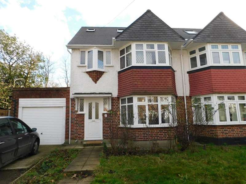 4 Bedrooms Semi Detached House for sale in Bridge Way, Whitton, Twickenham TW2