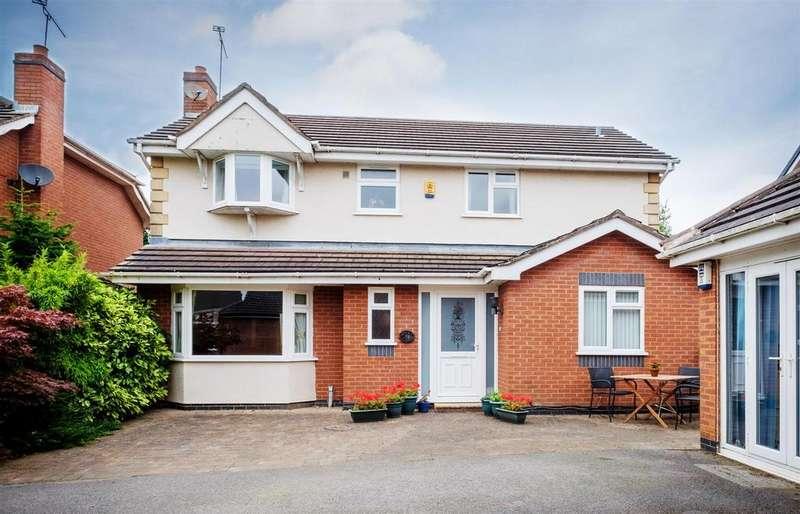 4 Bedrooms Detached House for sale in Cloverfields, Haslington, Crewe