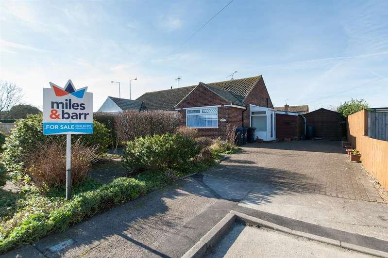 2 Bedrooms Semi Detached Bungalow for sale in Queen Berthas Avenue, Birchington