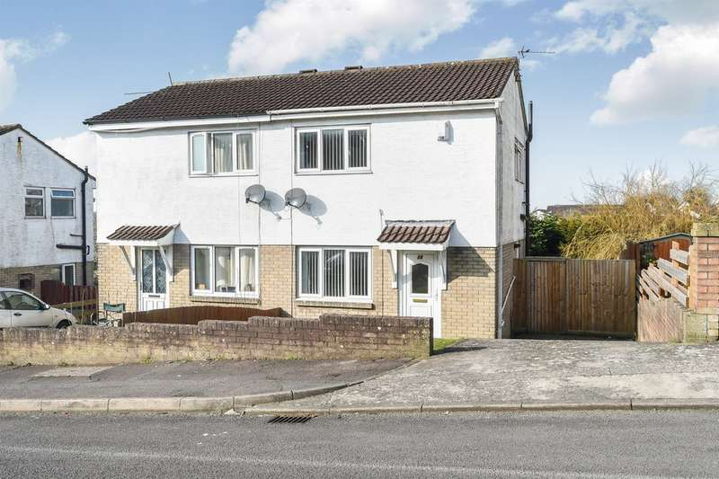 2 Bedrooms Semi Detached House for sale in Teifi Drive, Barry