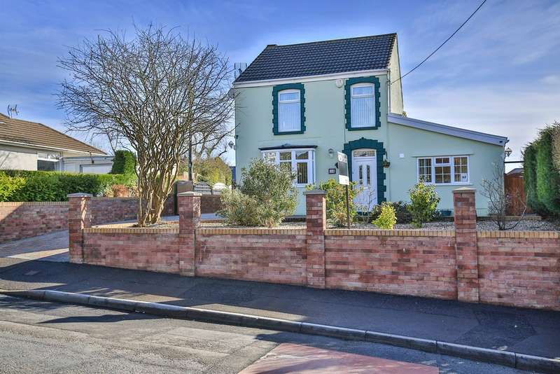 3 Bedrooms Detached House for sale in Chapel Road, Three Crosses, SWANSEA
