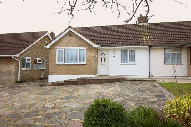 2 Bedrooms Semi Detached Bungalow for rent in Hilborough Way, Orpington, BR6