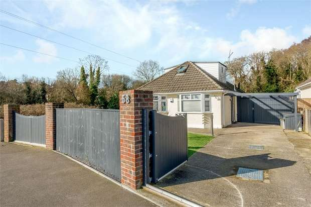 3 Bedrooms Detached Bungalow for sale in Astbury Avenue, Poole, Dorset