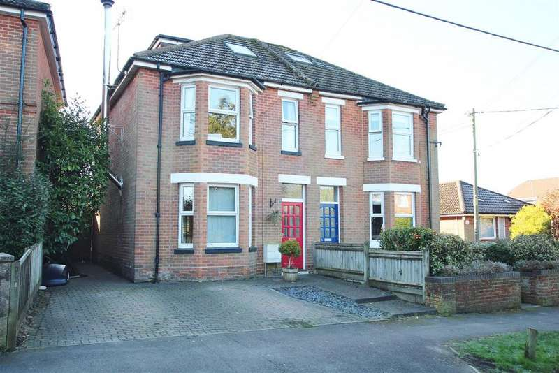 4 Bedrooms Semi Detached House for sale in Stoke Park Road, Bishopstoke, Eastleigh