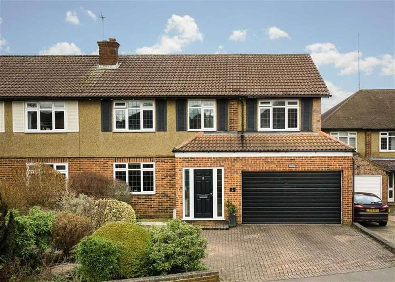 4 Bedrooms Semi Detached House for sale in Meadow Close, St Albans, Hertfordshire