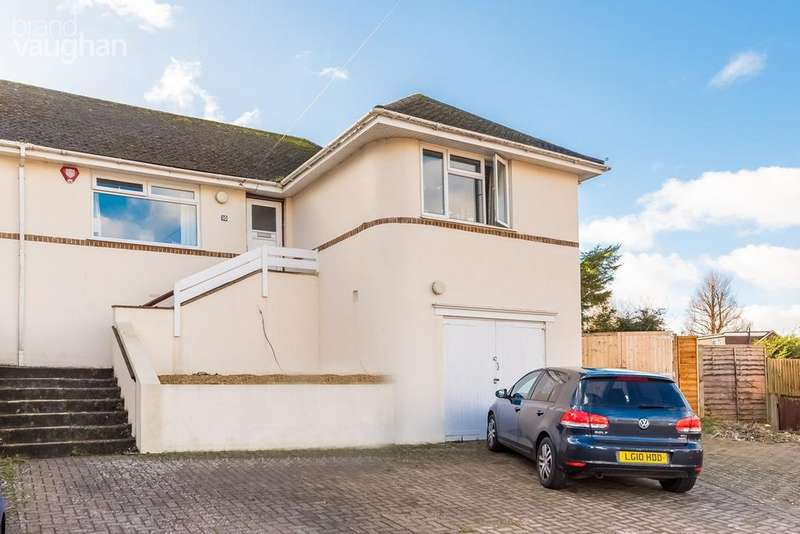4 Bedrooms Semi Detached House for sale in Wilmington Close, Brighton, BN1