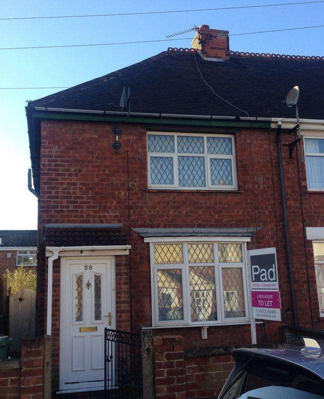 2 Bedrooms Terraced House for rent in Fairview Avenue, Cleethorpes