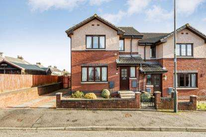 2 Bedrooms Semi Detached House for sale in Craigford Drive, Bannockburn
