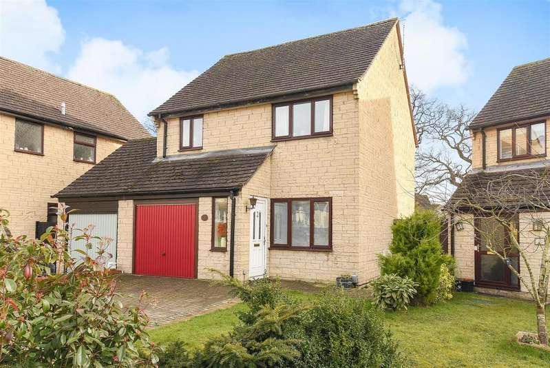 3 Bedrooms Link Detached House for sale in Oxlease, Witney