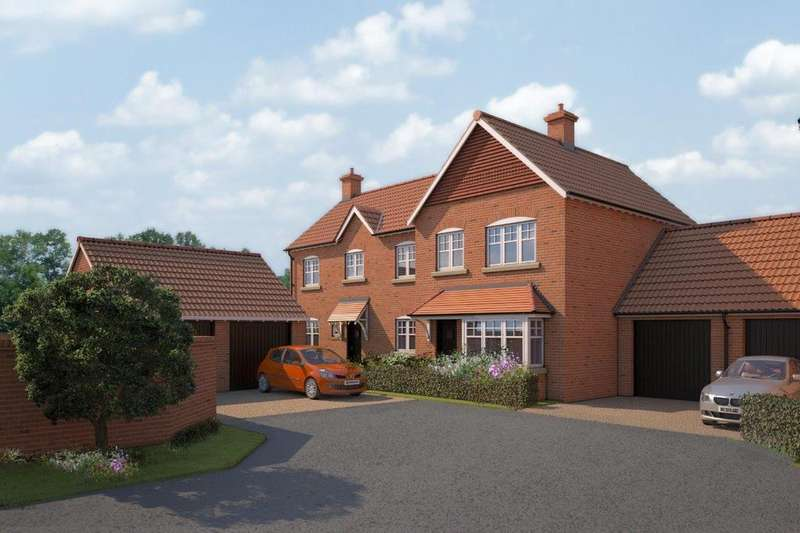 3 Bedrooms Semi Detached House for sale in Plot 3, Blacksmith Court, Cliffe, Selby